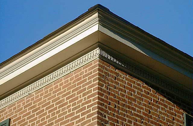 Eaves ornamentation