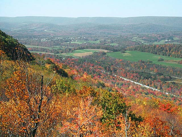 Logan Valley - From Brush Mountain looking west
